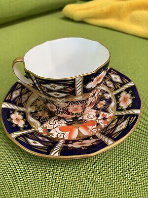 Royal Crown Derby Imari Pattern 2451 Cup And Saucer • 7.30£