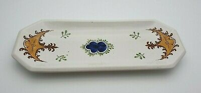 RARE ANTIQUE WEMYSS WARE PEN TRAY C.1900's - PERFECT • 29£
