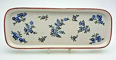 RARE ANTIQUE HAND PAINTED WEMYSS WARE TRAY C.1900's - PERFECT • 41£