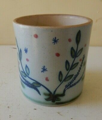 Buchan  Thistle  Pottery Pot • 6.50£