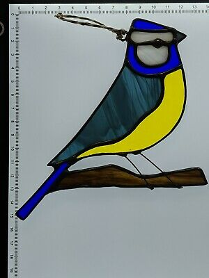 Stained Glass Blue Tit  • 30£