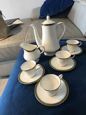 Wedgwood Chester Coffee Set, Pot ,Jug, Coffee Cups & Saucers • 14.99£