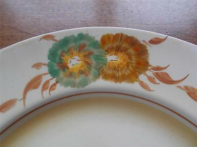 Vintage ART DECO CLARICE CLIFF Honey Dew Dinner Plate Newport Pottery England • 65£