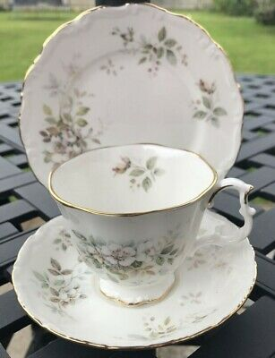 Royal Albert Haworth Cup And Saucer Trio Used • 7.50£