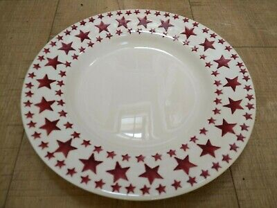 Emma Bridgewater - Red Multi - Stars 8.5 Inch Side Plate 1st Rare • 25£