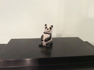 Wade First Series Whimsie Panda Small Version - Vintage • 6.99£