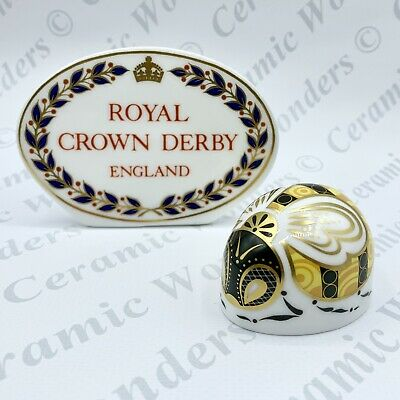 """Royal Crown Derby Collectors Guild """"Bumblebee"""" Paperweight - Gold Stopper • 42£"""