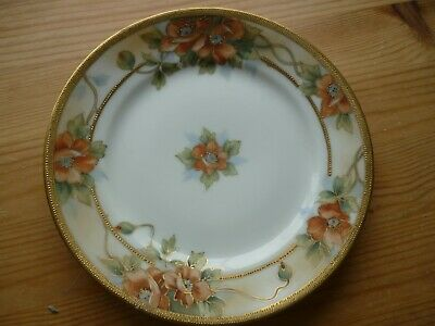 Noritake Plate - Floral/guilt - Side Plate Or Decorative Plate • 3.99£