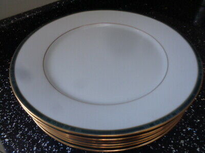 Boots Hanover Green Dinner Plates X 6 • 45£