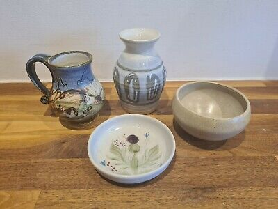 Scottish Pottery Selection X 4 - Buchan, Carron, Inniemore (Mull) Orkney  • 15£
