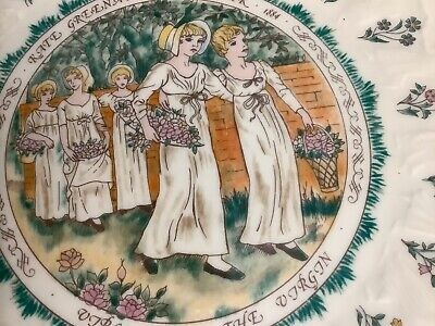 Royal Doulton Tableware 1977 Kate Greenaway 1884 Almanack Virgo • 6.49£