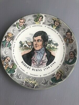 Royal Doulton China, Robert Burns 1759 1796 Collectible Plate. 10.5  • 1.99£