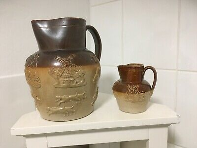 Antique Doulton And Co Limited Lambeth Pinched Lip Jugs ? • 6.99£