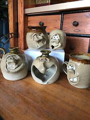 Pretty Ugly Pottery, 5 Pieces • 20£