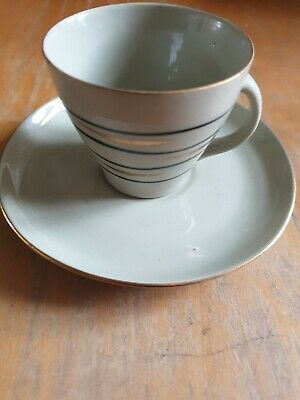 Pruszkow  Miniature Cup And Saucer • 5£