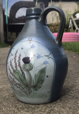 Vintage Buchan Portobello Whisky Jar - Hand Painted With Thistle Design • 8.99£