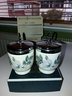 Royal Worcester Pair Of Egg Coddlers • 6.30£