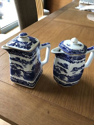 Ringtons Collectable Blue And White X 2  • 10£