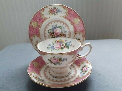 Royal Albert Lady Carlyle Trio • 14.99£