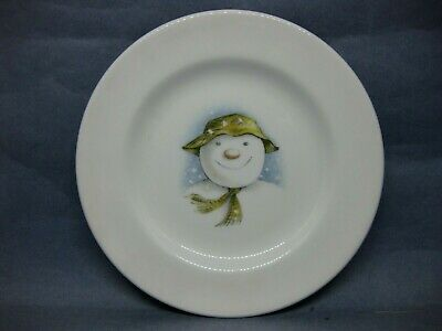 Royal Doulton THE SNOWMAN Tea Plate 1985 • 6.50£