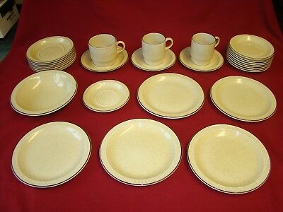 POOLE POTTERY Broadstone Part COFFEE SET 28 Pieces • 35£