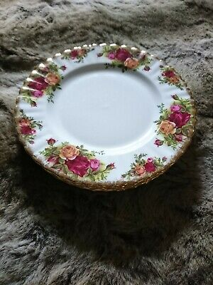 ROYAL ALBERT OLD COUNTRY ROSES Set Of 6. 8  Side Plates • 5£
