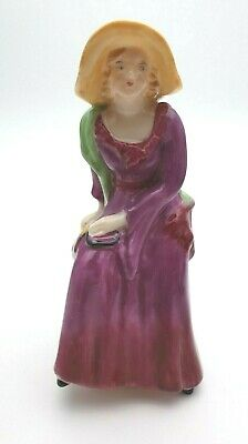 Antique Crested Ware Arcadian China 'lady Marie' Figurine - Perfect • 14.99£