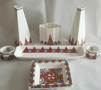 Poole Pottery Collection 7 Iona Pattern Items *RARE* • 70£