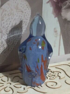 Maltese Glass Penguin Paperweight • 10£