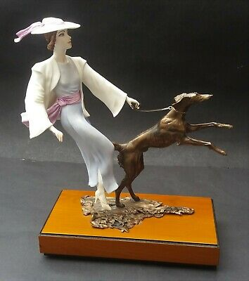 Well Detailed Limited Edition Albany China Kensington Lady With Dog Figurine • 189.99£