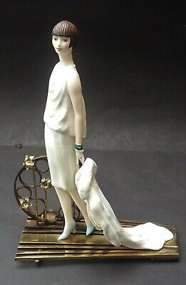 Well Detailed Albany China Ritz Lady Figurine • 109.99£