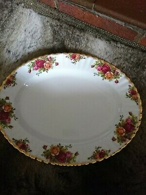 Royal Albert Old Country Roses 13inch Large Oval Serving Platter/meat Plate VGC • 5£