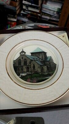 St Marys Church Horden 1913-1988 Commemorative Plate Boxed 75 Years Co Durham • 5£
