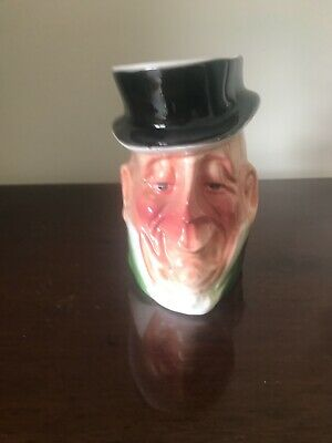 Charles Dickens Toby Jug  Mr. Micawber   By Leonardo 5 Inches High • 4.75£