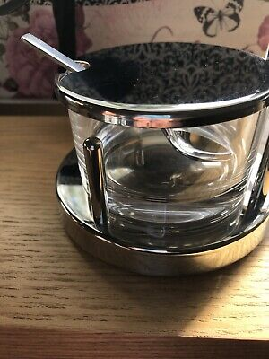 Alessi Classic Parmesan Dish With Spoon Good Used Condition • 19.99£