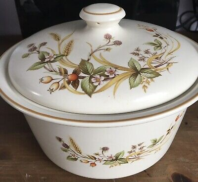 Marks And Spencer M & S St. Michael Harvest  Lidded Casserole Dish • 9.90£