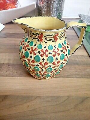 Antique Yellow Canary Ware Jug • 15£