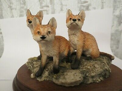 Border Fine Arts Foxes - First Time Out Bfa 1974-1994 Scotland Ray Ayres • 30£