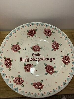 Emma Bridgewater Rose And Bee Large Personalised Serving Bowl Dish • 41£