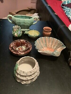 Joblot 7 X Various Pottery Bowls Collectible Bowls.                F1 • 6£