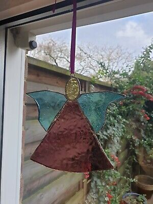 Hand Made Stained Glass Angel  • 25£