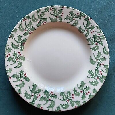 "Emma Bridgewater Christmas 🎄HOLLY SPRIG 8.5"" PLATE *Discontinued & Rare* • 25£"