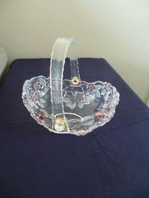 Waltherglas Walther Glass Crystal Basket • 4£