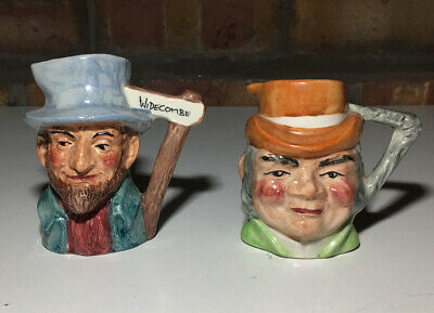 Small Toby Jugs Tom Pearce Uncle Tom • 14.99£