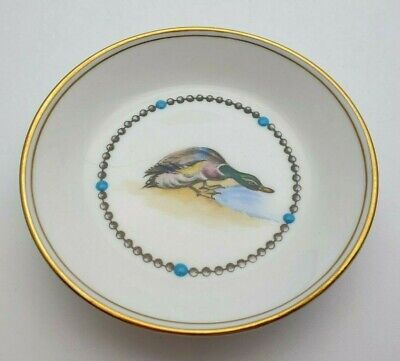 ROYAL WORCESTER HAND PAINTED DUCK DISH C.1949 WITH ENAMEL - PERFECT  • 19.99£