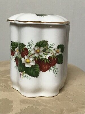 Vintage Hammersley Bone China Strawberry Pot • 4.60£