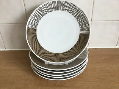 Thomas China Medaillon Tourmaline 6 X 17.5 Cm Side /Tea Plates • 15£