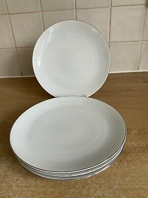 Thomas Medaillon Narrow Platinum - 4 X 21 Cm Salad Plates • 24£