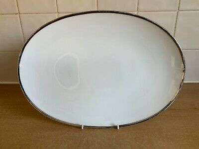 Thomas Medaillon Wide Platinum Band - 33 Cm Oval Platter • 15£