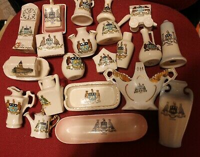 Leeds Owl Coat Of Arms Crested China Collection 2 • 60£